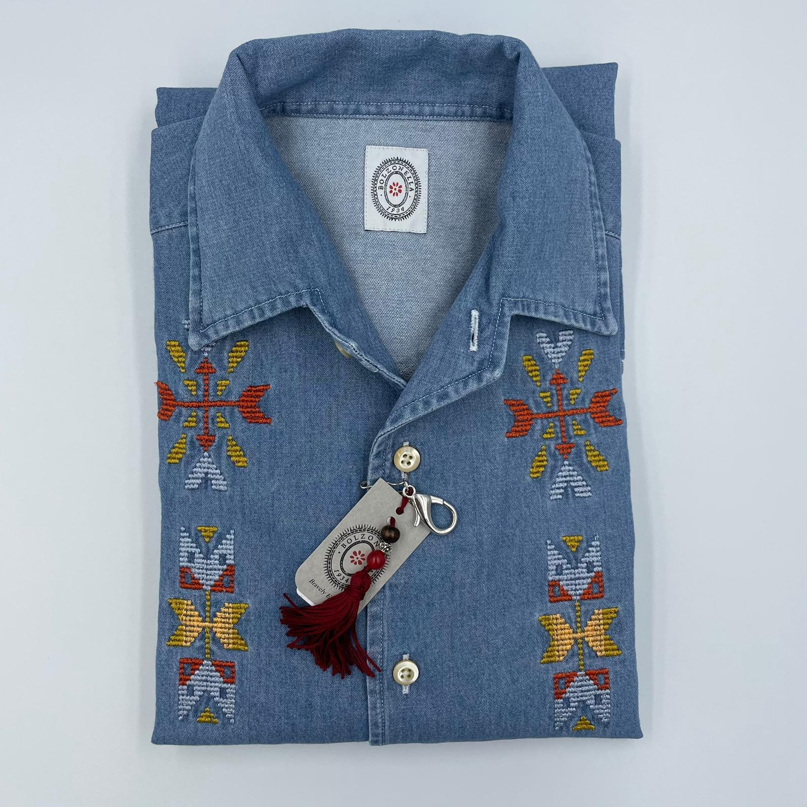 Foto van Bolzonella western Navahow shirt