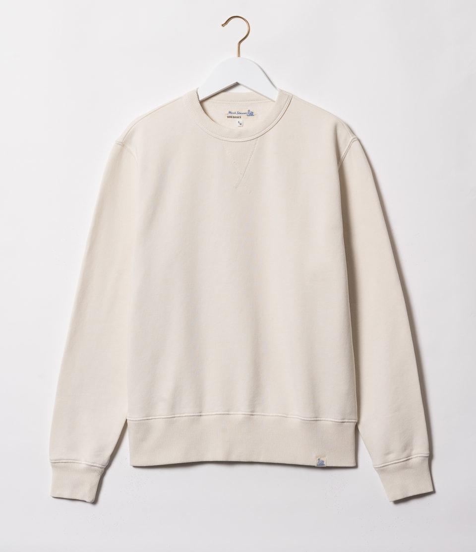 Merz b. Schwanen Sweatshirt Ivory