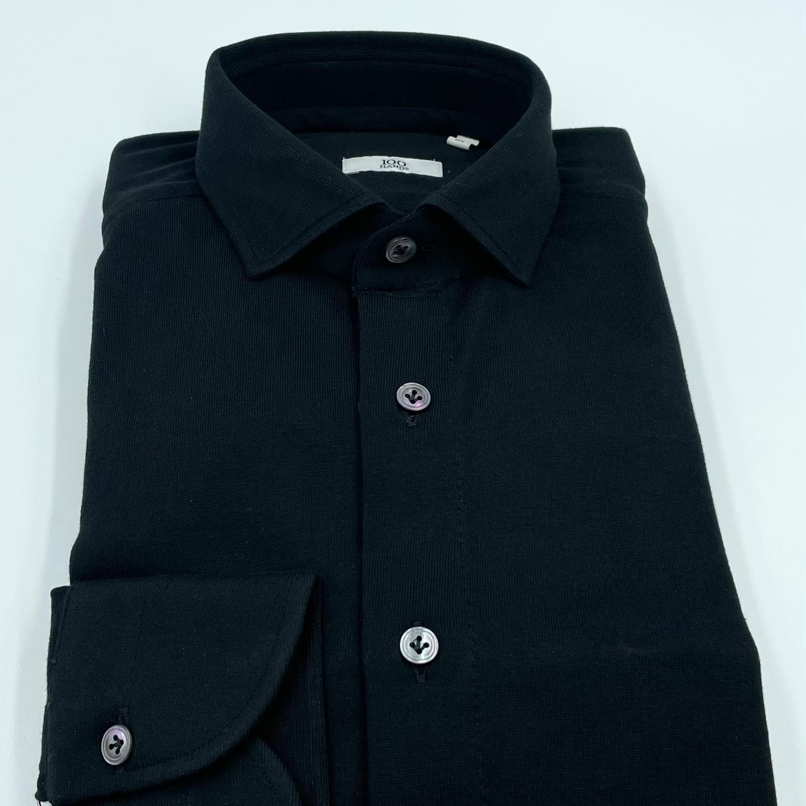 Foto van 100 hands Jersey Shirt Black