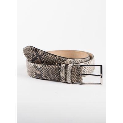 Foto van Fashion belt Python WHITE