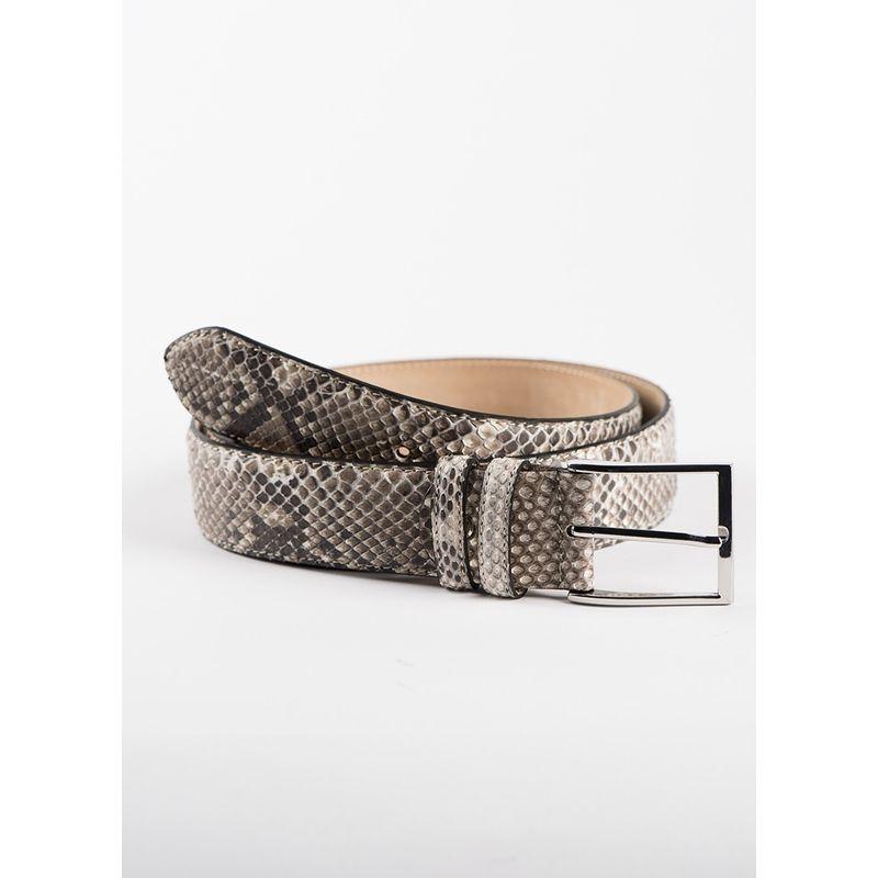 Fashion belt Python WHITE