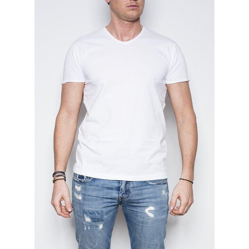 Kris K V T-shirt Wit